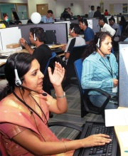A Call Centre.-Bangalore